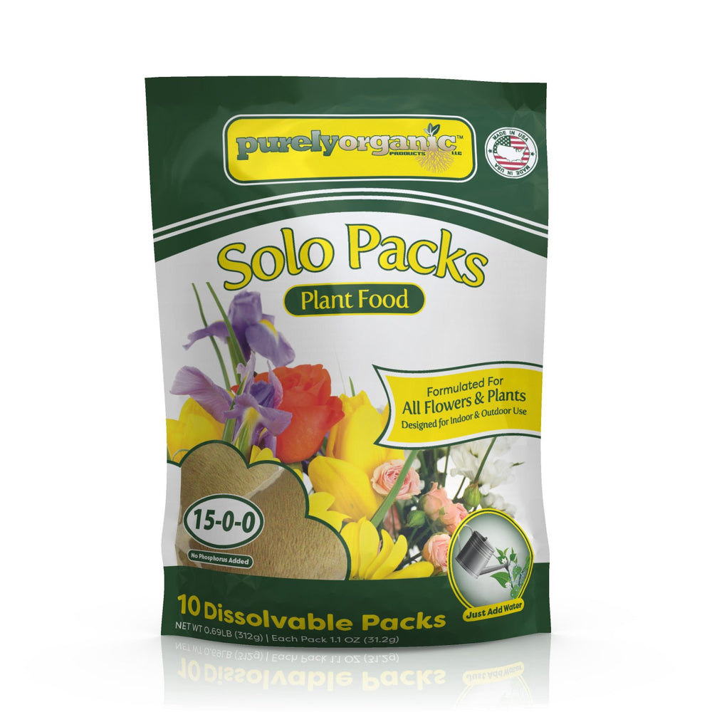 Purely Organic Products Plant Food Solo Packs