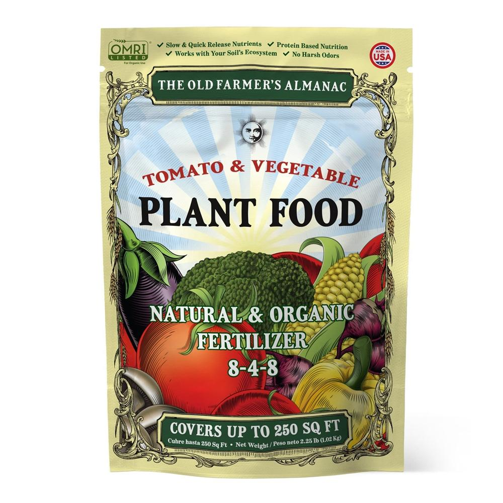 Load image into Gallery viewer, The Old Farmer's Almanac Organic Tomato & Vegetable Plant Food (Case of 8 Bags)