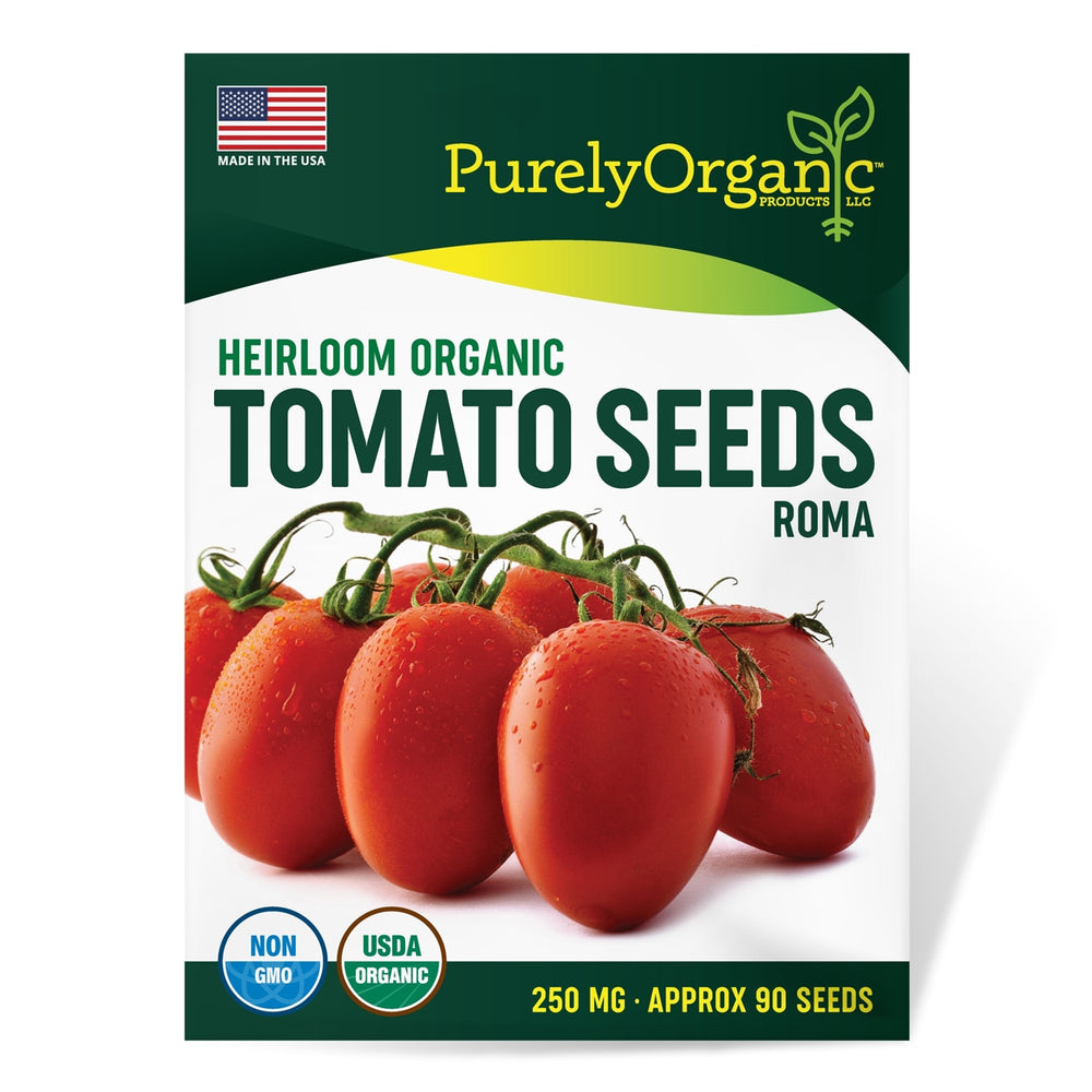 Purely Organic Heirloom Tomato Seeds (Roma) - CROP FAILURE
