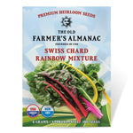 The Old Farmer's Almanac Swiss Chard Seeds (Rainbow Mixture) - COMING SOON