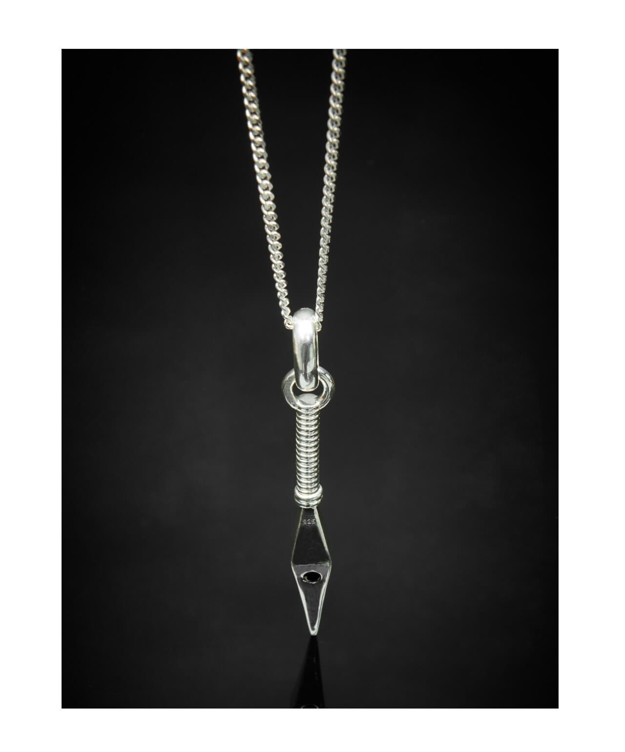 Large Spear Pendant + Chain