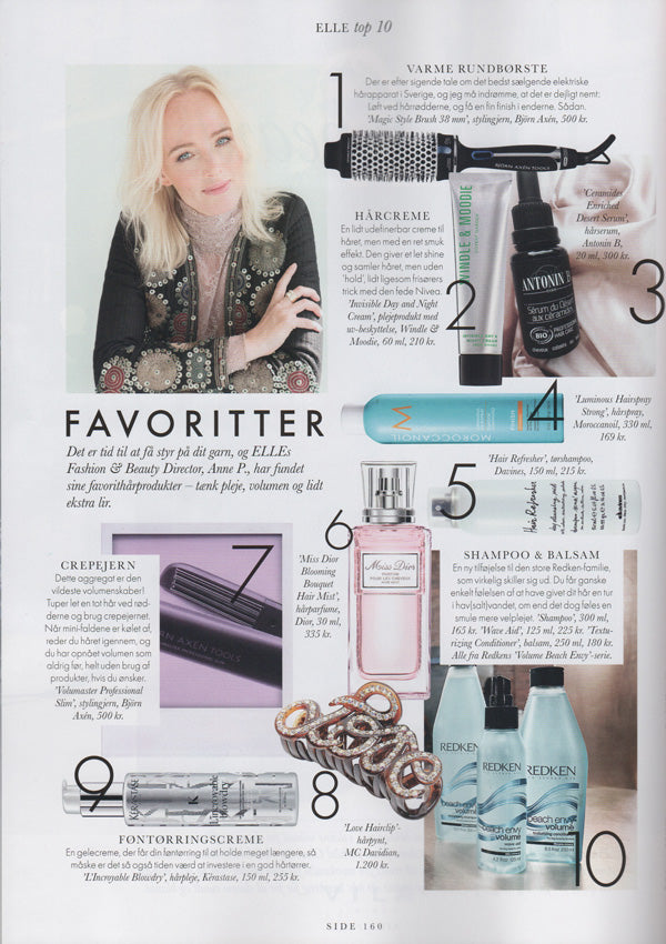 Elle´s Fashion & Beauty Director Anne P shows her favorites to get a handle on your yarn.