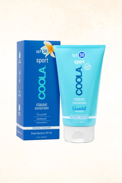Coola - Classic Sport SPF 50 Unscented - 148 ml