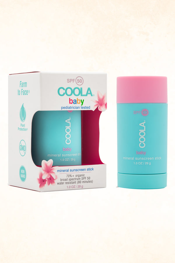 Coola - Mineral Baby SPF 50 Unscented Stick - 29 g