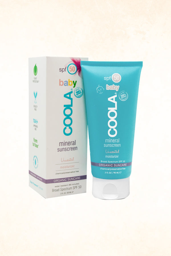 Coola - Mineral Baby SPF 50 Unscented - 89 ml