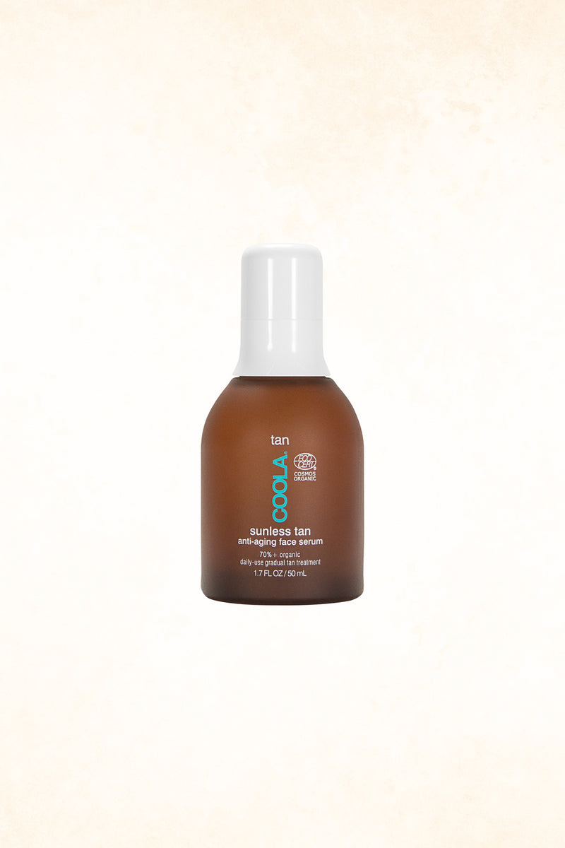 Coola -  Sunless Tan Anti-Aging Face Serum - 50 ml