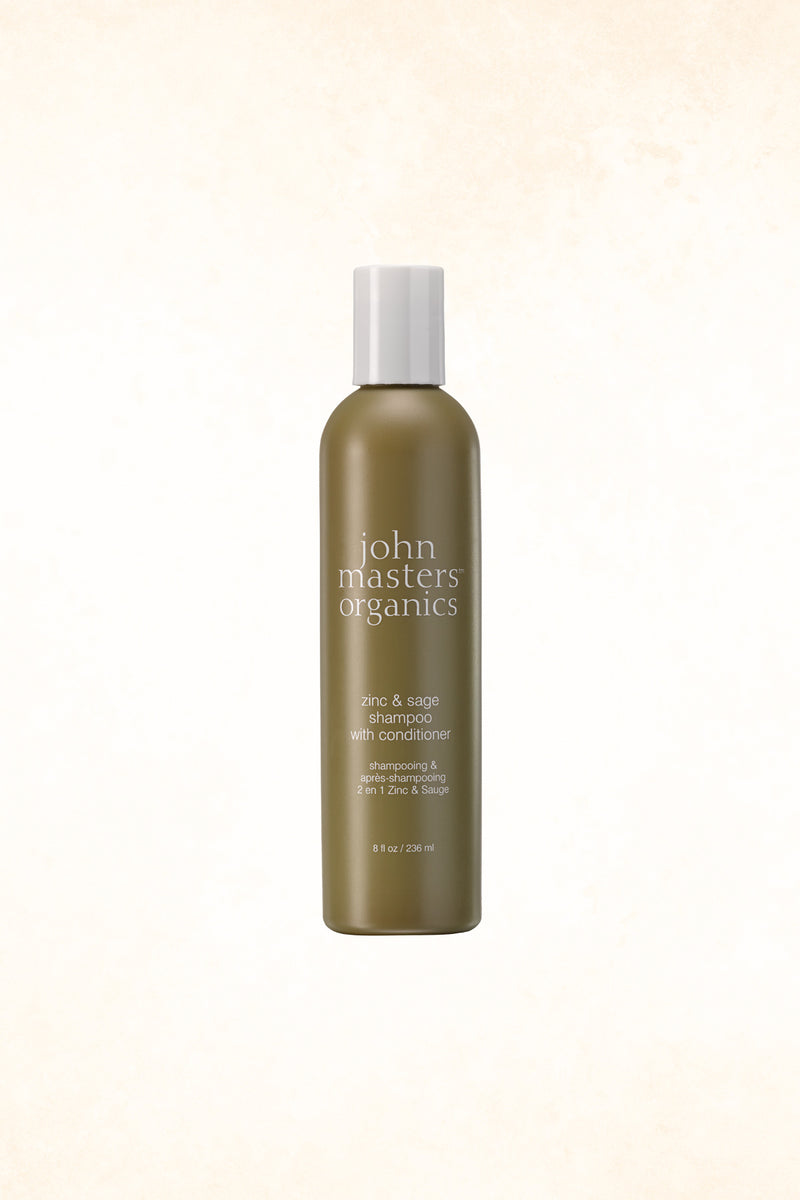 John Masters Organics - Zinc & Sage Shampoo With Conditioner