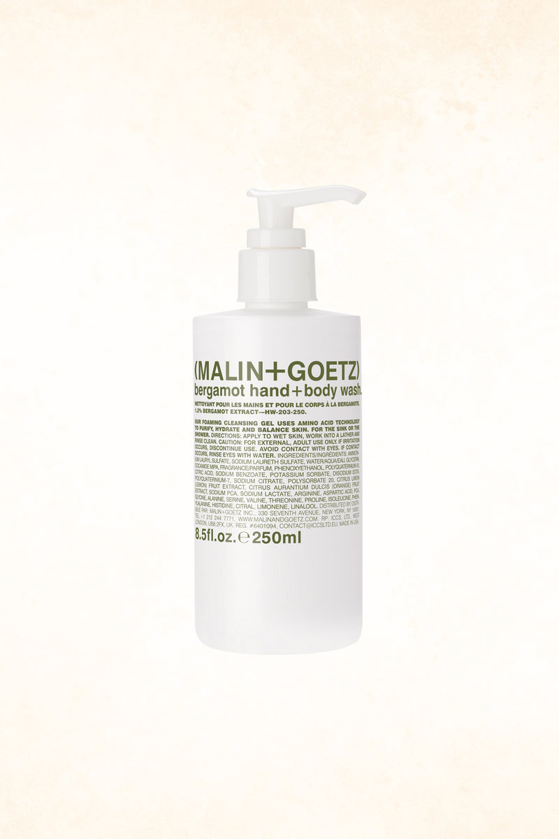 Malin+Goetz – Bergamot Hand+Body Wash 8.5 oz / 250 ml