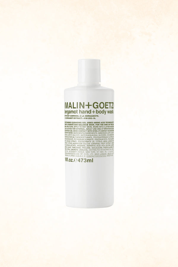 Malin+Goetz – Bergamot Body Wash 16 oz / 473 ml