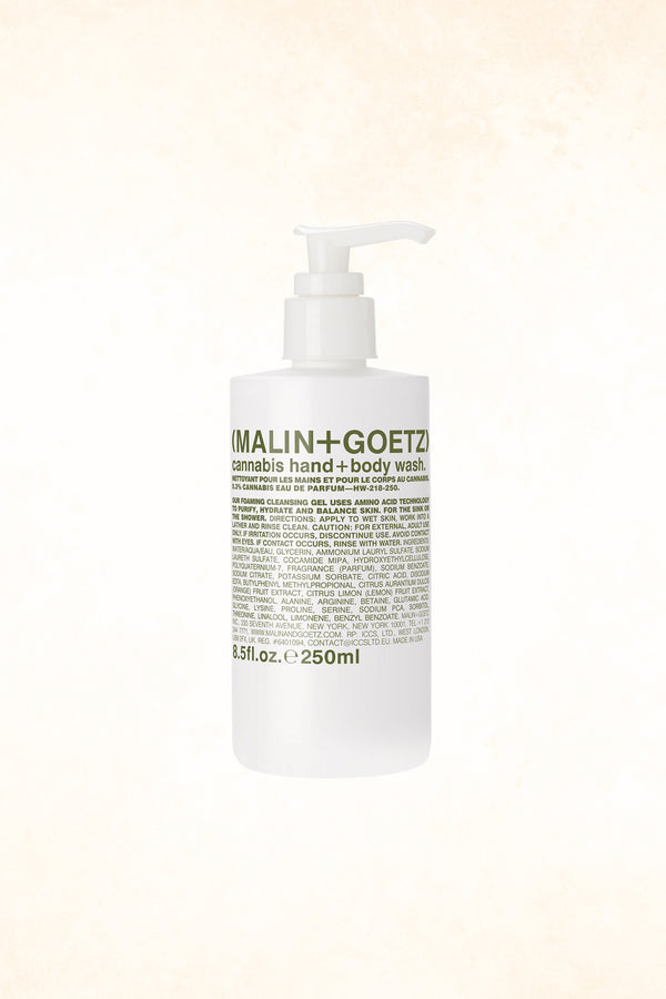 Malin+Goetz – Cannabis Hand (+Body) Wash 8.5 oz / 250 ml
