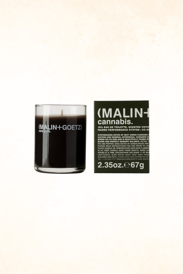 Malin+Goetz – Cannabis Votive Candle 2.35 oz / 67 g