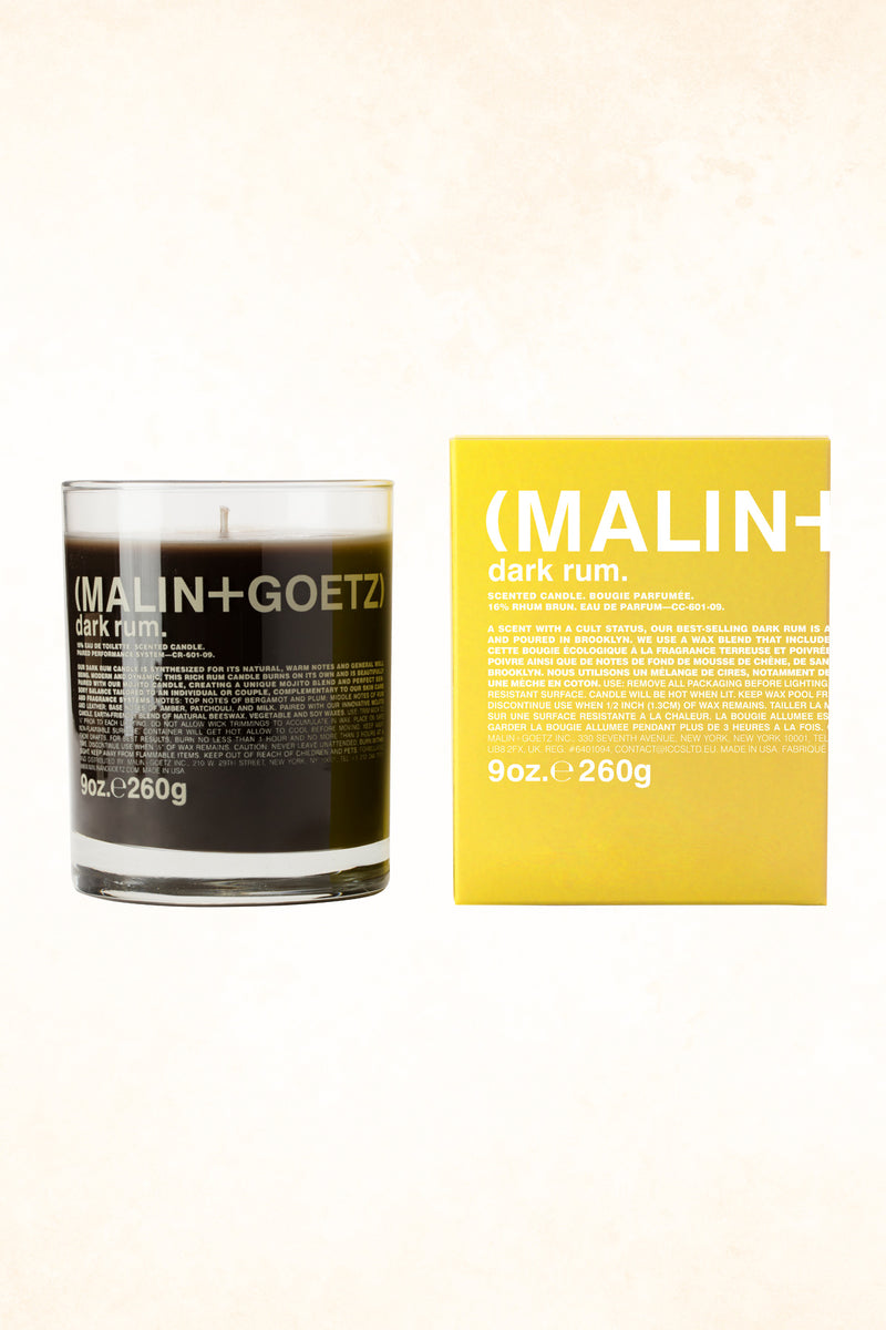 Malin+Goetz – Dark Rum Candle 9 oz / 260 g