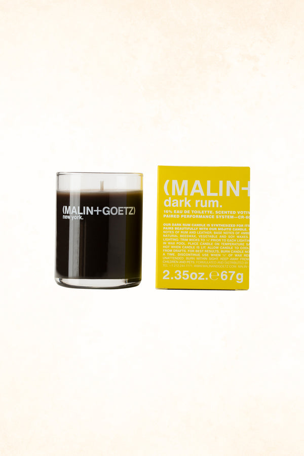 Malin+Goetz – Dark Rum Votive Candle 2.35 oz / 67 g