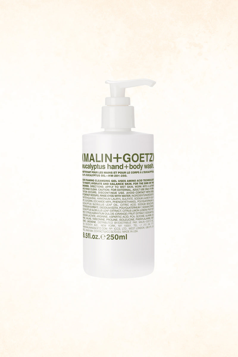 Malin+Goetz – Eucalyptus Hand+Body Wash 8,5 oz / 250 ml