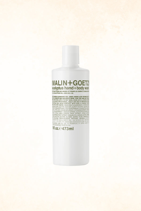 Malin+Goetz – Eucalyptus Hand+Body Wash 16 oz / 473 ml