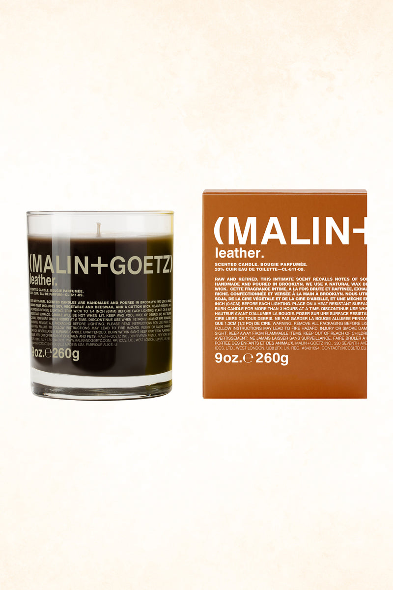Malin+Goetz - Leather Candle  9 oz / 260 g