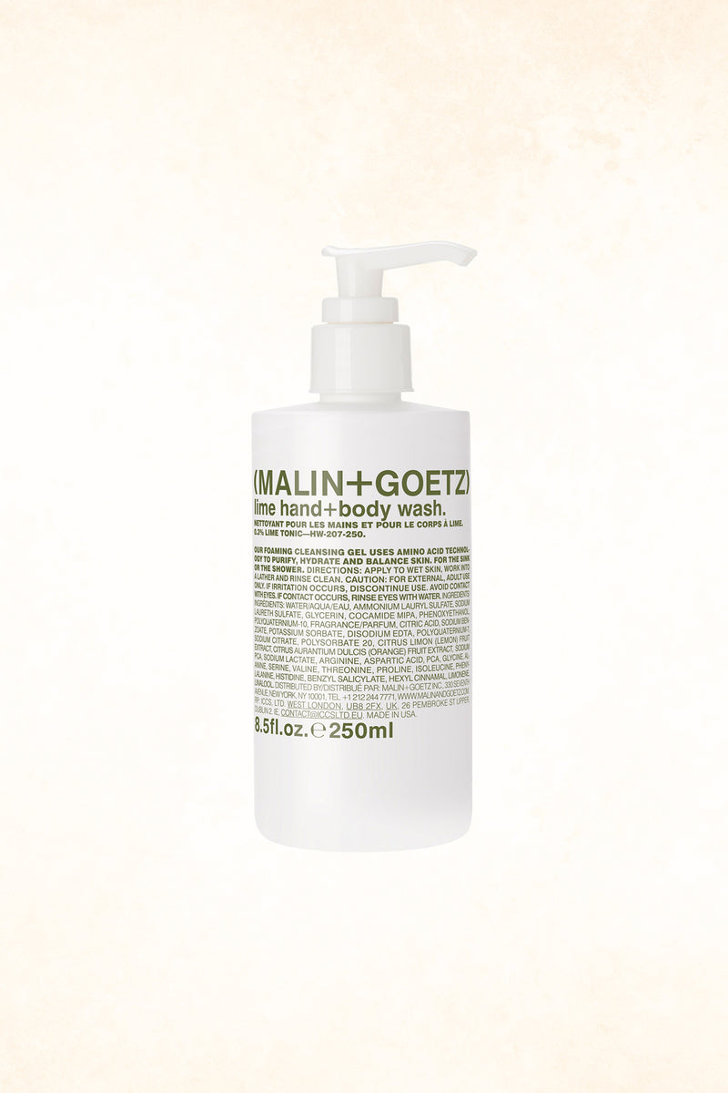 Malin+Goetz – Lime Hand+Body Wash