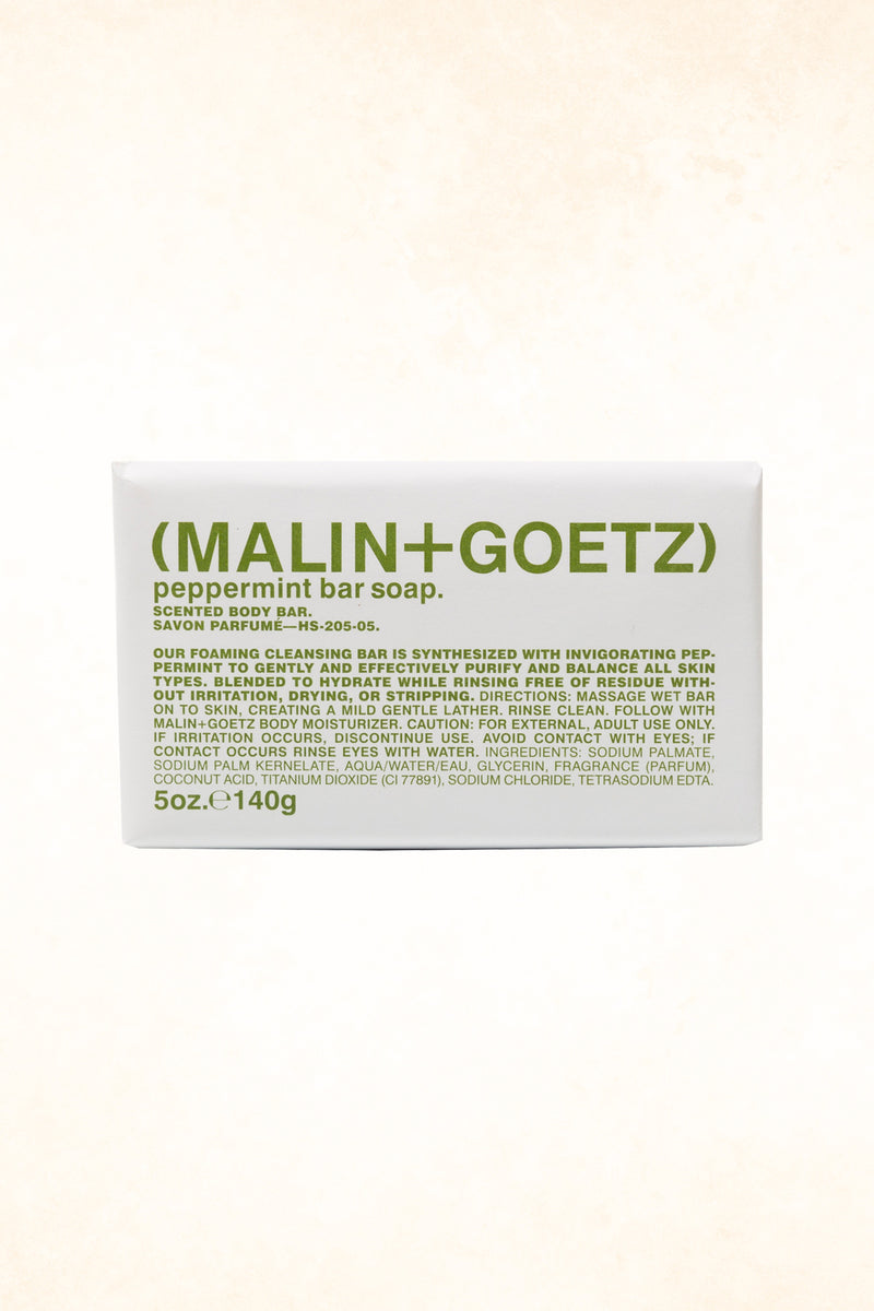 Malin+Goetz – Peppermint Bar Soap 5 oz / 140 g