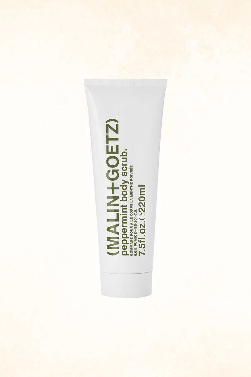 Malin+Goetz – Peppermint Body Scrub 7.5 oz / 220 ml