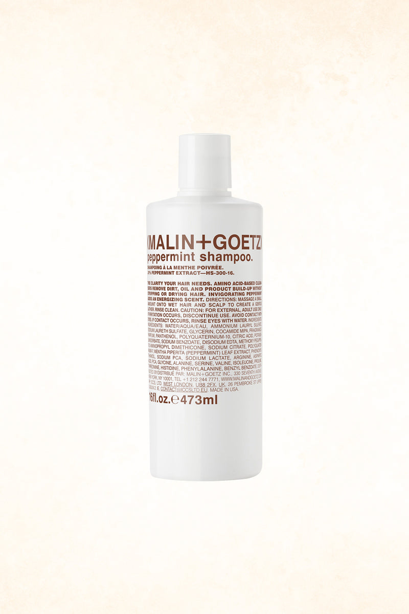 Malin+Goetz – Peppermint Shampoo 16oz / 473 ml