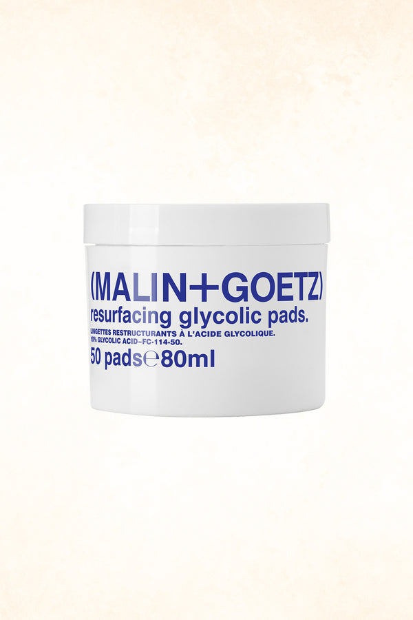 Malin+Goetz – Resurfacing Glycolic Pads 50 pads (10% Glycolic Acid)