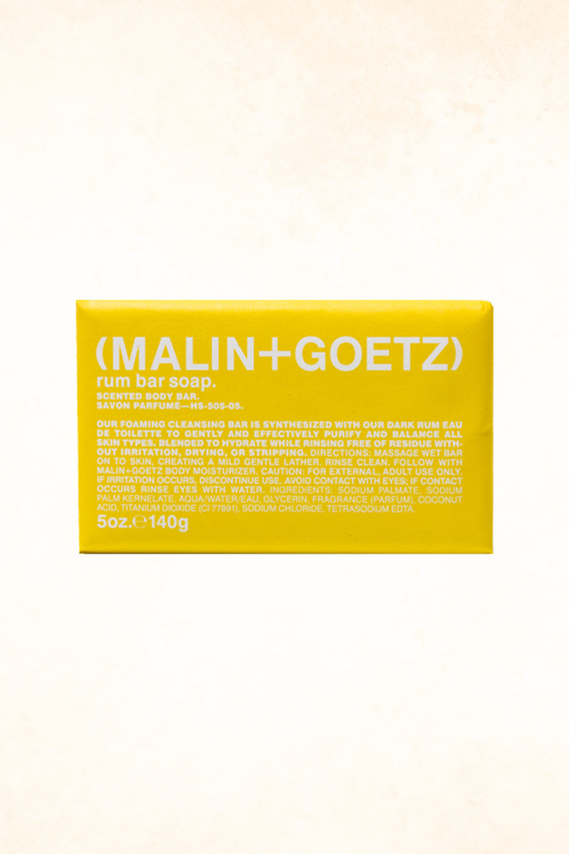 Malin+Goetz – Rum Bar Soap 5 oz / 140 g