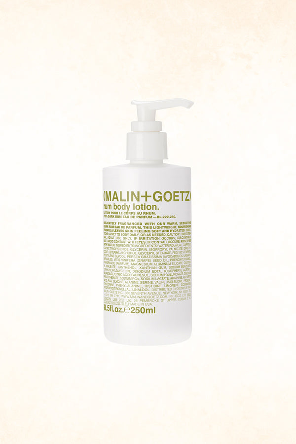 Malin+Goetz – Rum Body Lotion 8.5 oz / 250 ml
