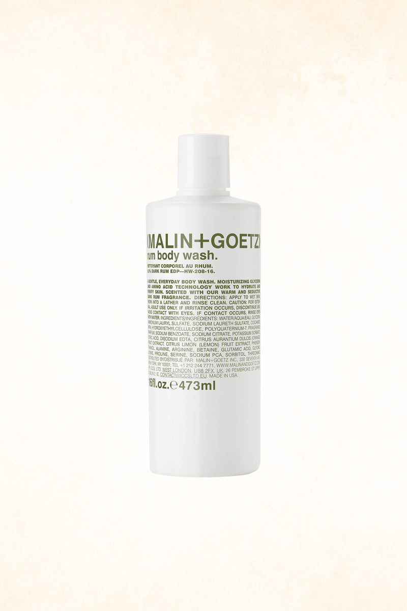 Malin+Goetz – Rum Body Wash 16 oz / 473 ml