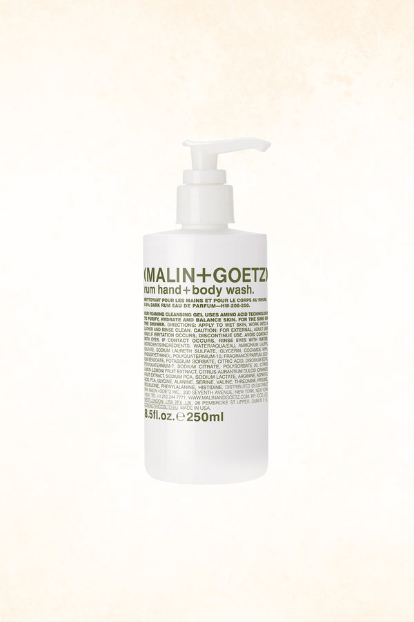 Malin+Goetz – Rum Hand+Body Wash 8.5 oz / 250 ml