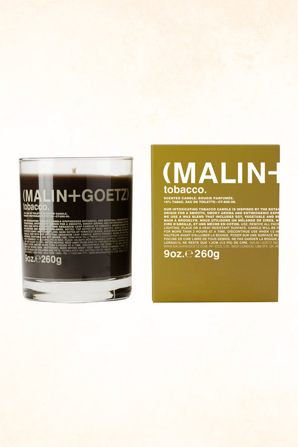 Malin+Goetz – Tobacco Candle 9 oz / 260 g