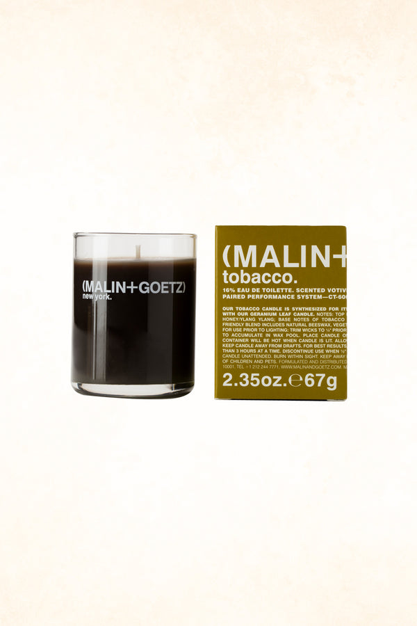 Malin+Goetz – Tobacco Votive Candle 2.35 oz / 67 g