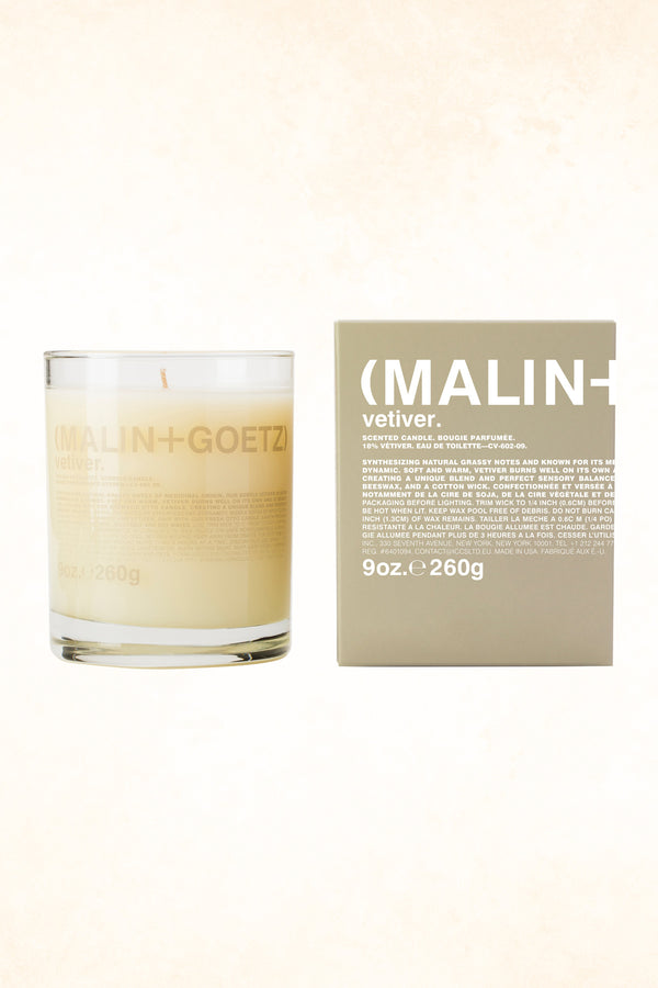 Malin+Goetz – Vetiver Candle 9 oz / 260 g