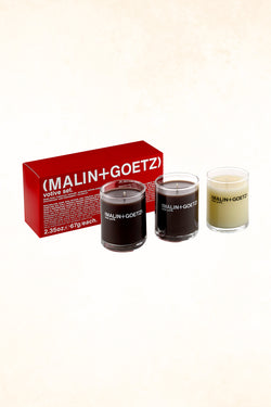 Malin+Goetz – Votive Set – 3 x  2.35 oz / 67 g