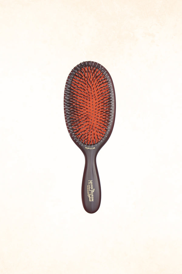 Mason Pearson - BN1 Popular Bristle & Nylon - Dark Ruby