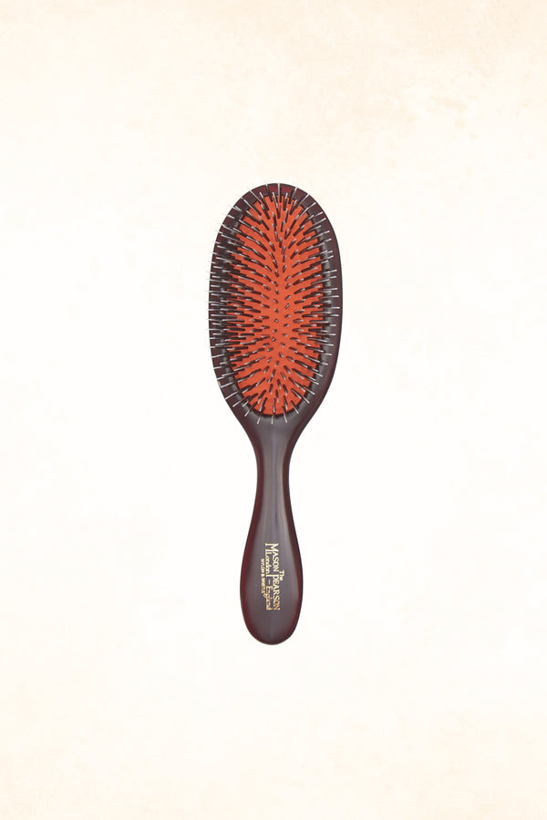 Mason Pearson - BN3 Handy Bristle & Nylon - Dark Ruby