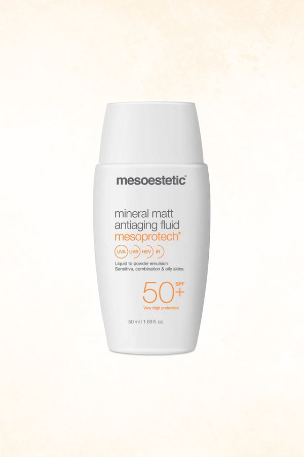Mesoestetic – Mineral Matt Antiaging Fluid 50+SPF