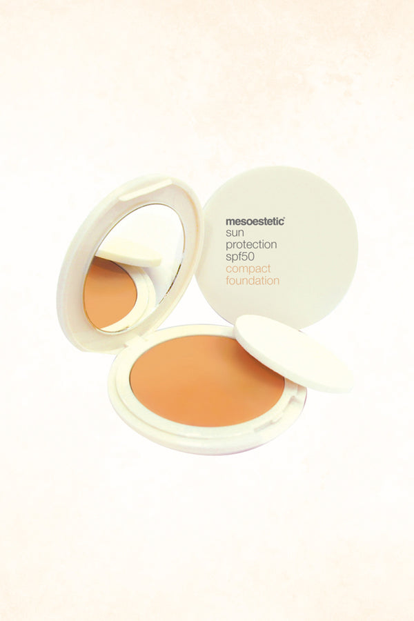 Mesoestetic – Compact Foundtaion Sun Protection SPF 50 – Color 010