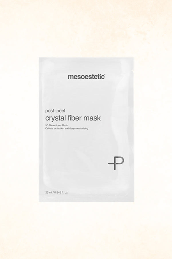 Mesoestetic – Post Peel Crystal Fiber Mask