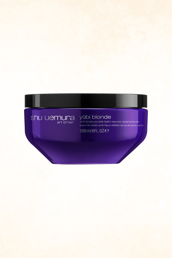 Shu Uemura Art Of Hair -  YŪBI BLONDE ANTI-BRASS PURPLE BALM - 200ML