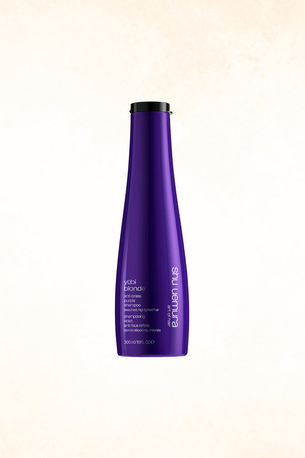 YŪBI BLONDE ANTI-BRASS PURPLE SHAMPOO 300ML