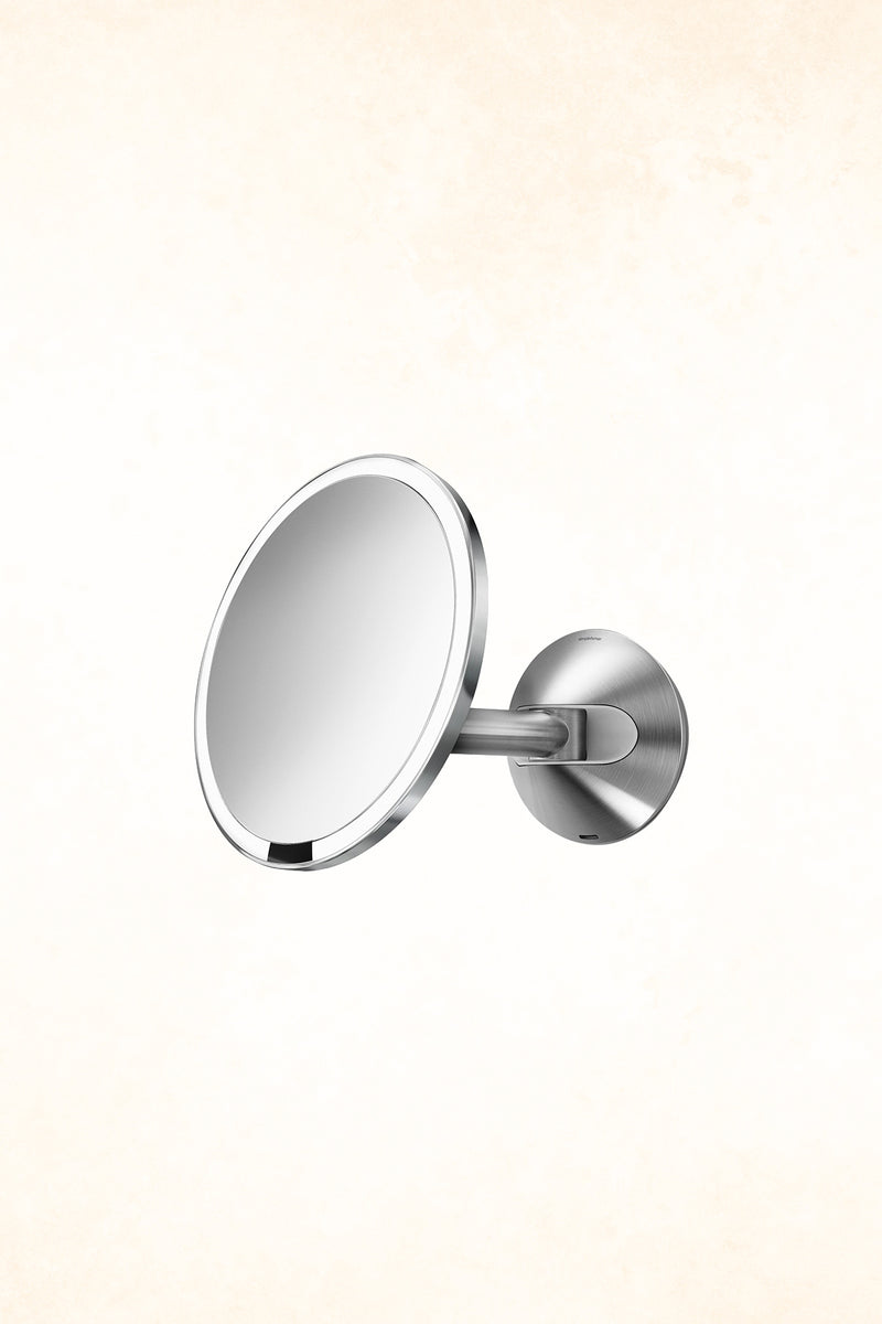 Simplehuman – 20cm sensor mirror - 5 x Magnification - Rechargeable