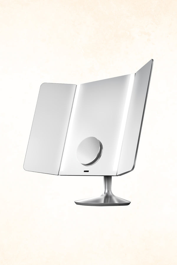 Simplehuman – Wide View Sensor Mirror - App-enabled - Rechargeable