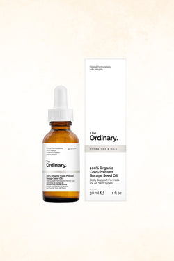 The Ordinary  - 100% Organic Cold-Pressed Borage Seed Oil - 30 ml