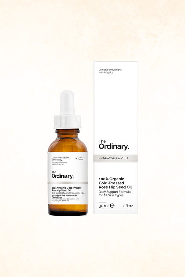 The Ordinary  - 100% Organic Cold-Pressed Rose Hip Seed Oil - 30 ml