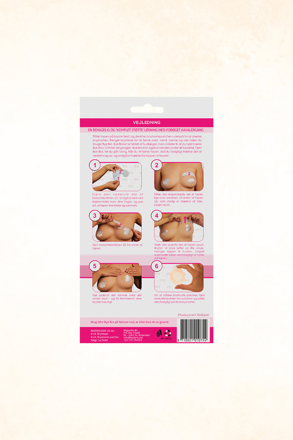 Bye Bra - AC Breast Lift Tape With Covering Silk Patches