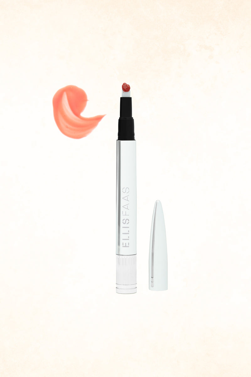 Ellis Faas Glazed Lips – L306 – Sheer Deep Coral