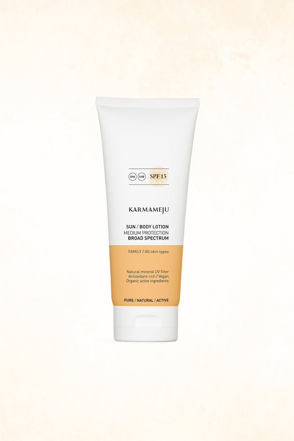 Karmameju - Sun Body Lotion - SPF 15 - 200 ml