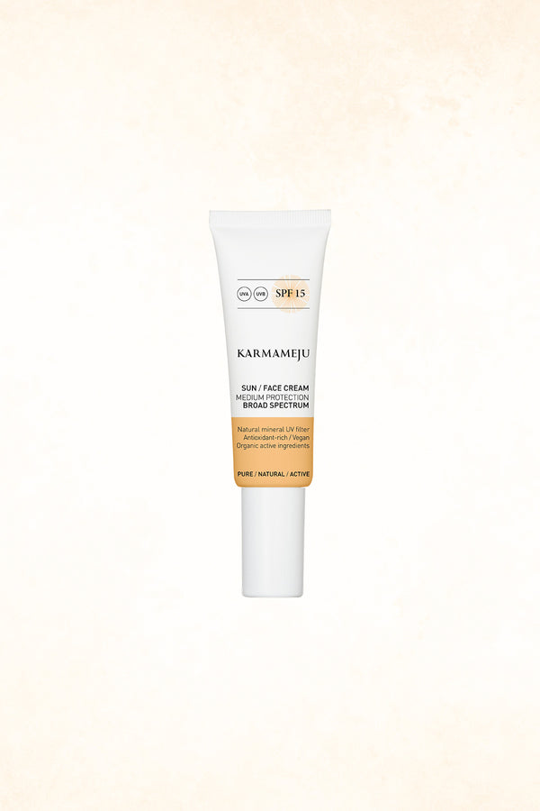 Karmameju - Sun Face Cream - SPF 15 - 50 ml