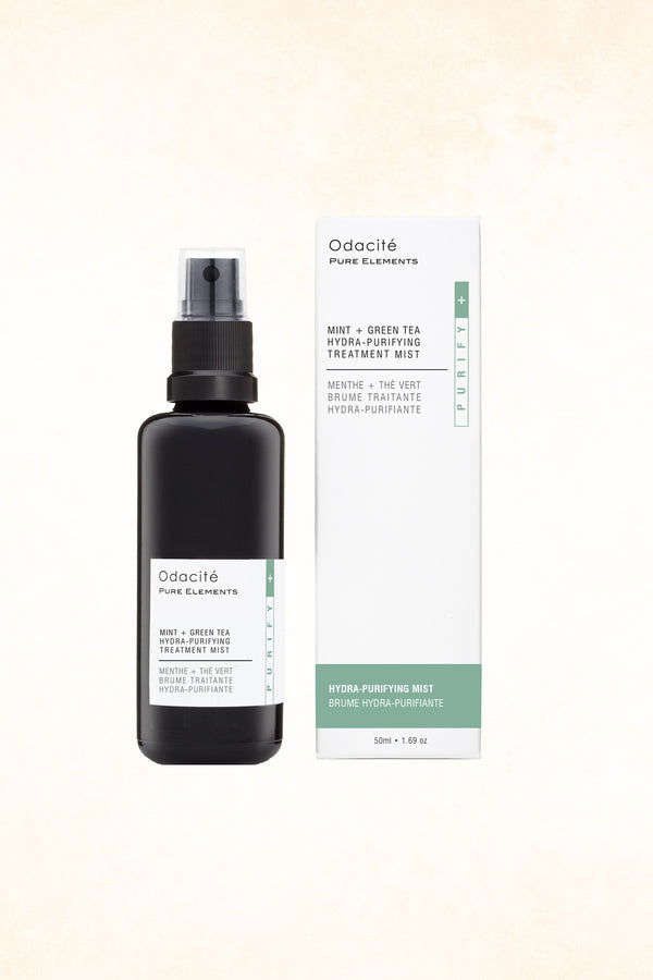 Odacité - Mint + Green Tea Hydra-Purifying Treatment Mist - 50 ml