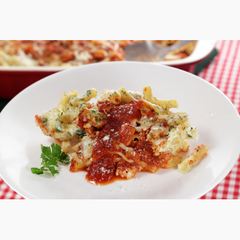 Baked Ziti with Sausage or Meatballs